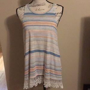 Lauren Conrad sleeveless shirt